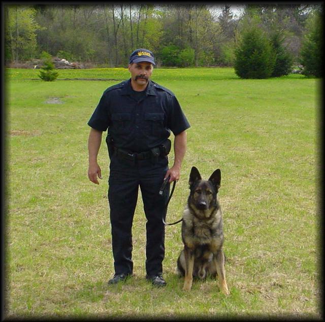 Pat Sacco & his partner Czar